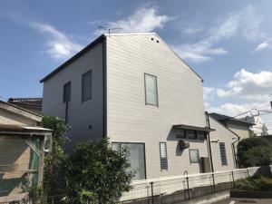 筑紫野市湯町S様邸【外壁:窯業系サイディング板 屋根:スレート瓦 付帯塗装】:施工後