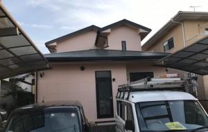 糸島市板持I様邸【外壁:窯業系サイディング板 屋根:スレート瓦 付帯塗装】:施工後
