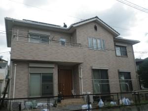 福岡市東区名子K様邸【外壁:窯業系サイディング板 付帯塗装】:施工前