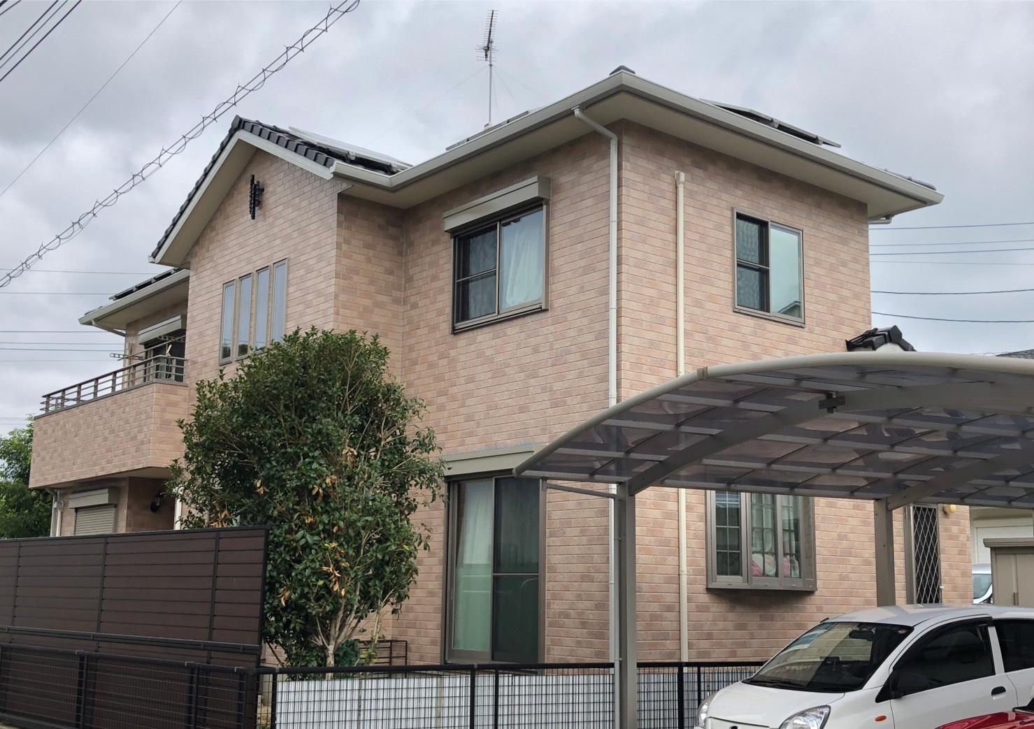福岡市東区名子K様邸【外壁:窯業系サイディング板 付帯塗装】