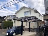 福岡市南区N様邸【外壁:窯業系サイディング板 屋根:スレート瓦 付帯塗装】